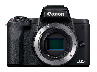 EOS M50 Mark II Kamera Gehäuse (24,1 MP, 7,5 cm Touchscreen LCD, WLAN, HDMI, Bluetooth, APS-C Dual Pixel CMOS AF System, Augenerkennung, DIGIC