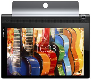 Yoga Tab 3 Plus 25,5 cm (10,1 Zoll QHD IPS Touch) Convertible Tablet-PC (Qualcomm Snapdragon 652, 3 RAM, 32 eMMC, Android 6.0) schwarz