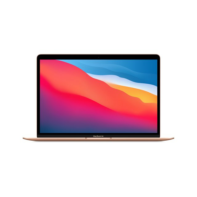 "Neues Apple MacBook Air mit Apple M1 Chip (13"", 8 GB RAM, 256 GB SSD) - Gold (Neustes Modell)"