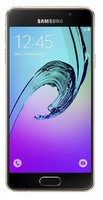 Galaxy A3 Smartphone (12 cm (4,71 Zoll) HD Super AMOLED Touch-Display, 16 GB, Android 5.1) schwarz