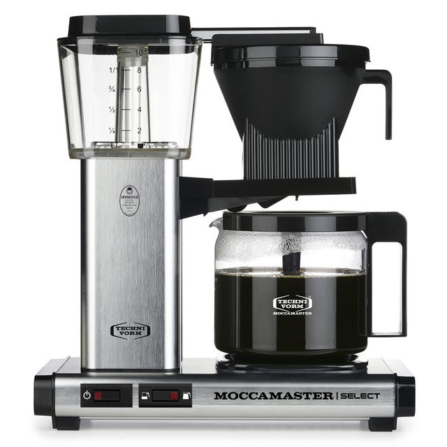 MOCCAMASTER KBG Select 53979 Brushed | Filterkaffeemaschine