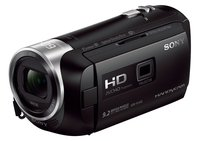 HDR-PJ410 Full HD Camcorder (30-fach opt. Zoom, 60x Klarbild-Zoom, Weitwinkel mit 26,8 mm, Optical Steady Shot) schwarz