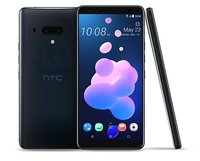 U12+ Smartphone (15,24 cm (6 Zoll) Super LCD-Display, 64 GB interner Speicher und 6 GB RAM, Wasserdicht nach IP68, Dual-SIM, Android 8.0), Translucent Blau