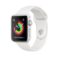 Series 3 GPS, Aluminiumgehäuse mit Sportarmband 42 mm Watch, Apple, »(watchOS 5)«