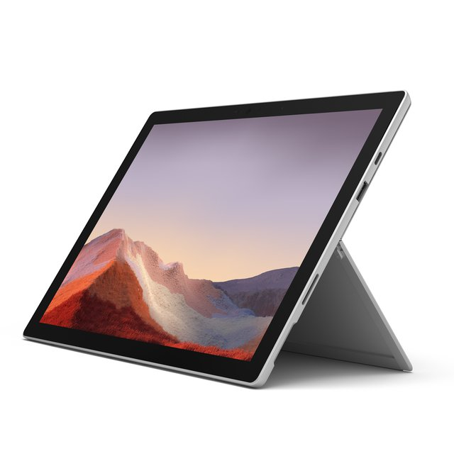 Surface Pro 7, 12,3 Zoll 2-in-1 Tablet (Intel Core i5, 8GB RAM, 128GB SSD, Win 10 Home) Platin Grau