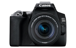 Spiegelreflexkamera EOS 250D mit Objektiv EF-S 18-55mm 4.0-5.6 IS STM, schwarz (3454C002) - 1720449