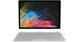 Surface Book 2 Windows®-Tablet / 2-in-1 33cm (13 Zoll) 1TB Wi-Fi Silber Intel Core i7 1.9