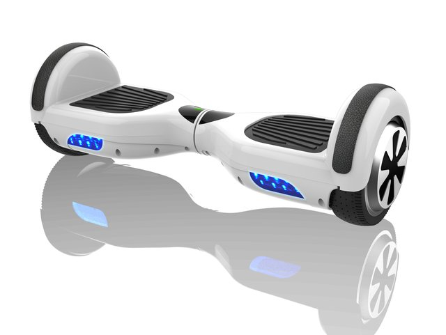 HBO-6610WHITE Hoverboard Weiß Li-Ion 25 V 4 Ah