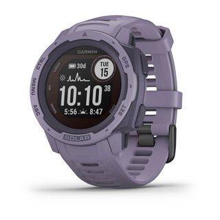 Instinct Solar - wasserdichte GPS-Smartwatch mit Solar-Ladefunktion für bis zu 54 Tage Akku. Mit Sport-/Fitnessfunktionen, Herzfrequenzmessung
