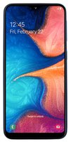 Galaxy A20e Smartphone (14.7cm (5.8 Zoll) 32GB interner Speicher, 3GB RAM, Dual SIM, Blau) - Deutsche Version