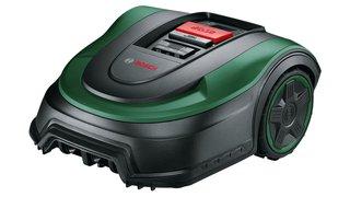 Bosch Rasenmäher Roboter Indego S+ 500 (mit 18V Akku und App-Funktion, Ladestation enthalten, Schnittbreite 19 cm, für Rasenflächen bis 500 m², im