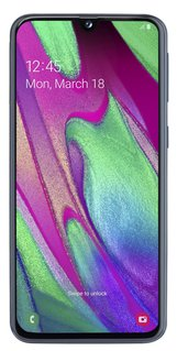 Galaxy A40 Smartphone (14,92 cm / 5,9 Zoll, 64 GB, 16 MP Kamera)