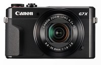 PowerShot G7X Mark II Digitalkamera 20.9 Mio. Pixel Opt. Zoom: 4.2 x Schwarz Full HD Video, K