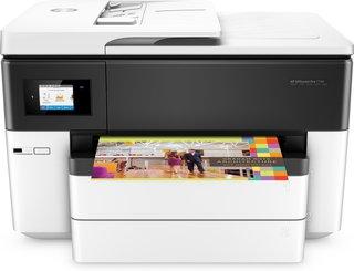 OfficeJet Pro 7740 A3-Multifunktionsdrucker (DIN A3, Drucker, Scanner, Kopierer, Fax, WLAN, Duplex, HP ePrint, Apple Airprint, USB, 4800 x 1200