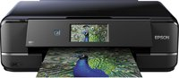 Expression Photo XP-960 Tintenstrahl Multifunktionsdrucker (Drucken, Scannen, Copy-Funktion, 5.760x1.440 dpi, Wi-Fi, USB, Duplex) schwarz