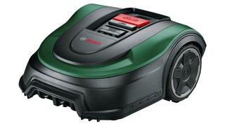 Bosch Rasenmäher Roboter Indego M+ 700 (mit 18V Akku und App-Funktion, Ladestation enthalten, Schnittbreite 19 cm, für Rasenflächen bis 700 m², im
