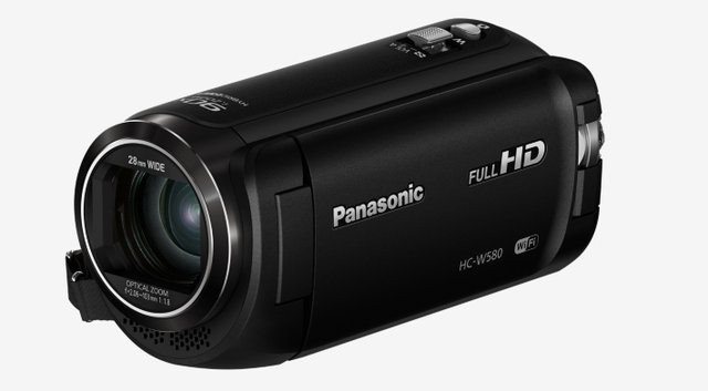 HC-W580EG-K Full HD Camcorder (Full HD, 50x opt. Zoom, 2,2 MP BSI Sensor, 28 mm Weitwinkel, opt. 5-Achsen Bildstabilisator Hybrid OIS+)
