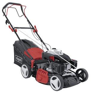 Rasenmäher MS161-46 - 4.1PS | 460mm Schnittbreite | Radantrieb | 55 Liter Fangkorb | Schnitthöhenverstellung | Reinigungsfunktion