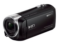 HDR-CX405 Full HD Camcorder (30-Fach Opt. Zoom, 60x Klarbild-Zoom, Weitwinkel mit 26,8 mm, Optical Steady Shot) mit Intelligent Active Mode Verwacklungsarme Aufnahmen schwarz