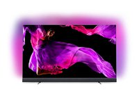 55OLED903/12 139cm (55 Zoll) OLED TV (Ambilight, 4K Ultra HD, Triple Tuner, Android Smart TV) Silber