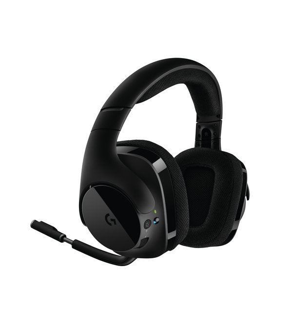 533 kabelloses Gaming-Headset, 7.1 Surround Sound, DTS Headphone:X, 40mm Treiber, 2.4 GHz Wireless, Noise-Cancelling Mikrofon, Wireless
