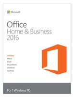 Office Home and Business 2016, Vollversion, 1 User, ESD, Download