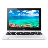 Chromebook R 11 CB5-132T-C4LB 29,5 cm (11,6 Zoll HD IPS 360°) Convertible Notebook (Intel Celeron N3160, 4GB RAM, 32GB eMMC, Intel HD Graphics, Google Chrome OS) weiß