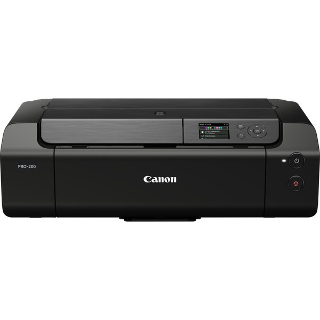 PIXMA PRO-200 Farbtintenstrahldrucker Fotodrucker DIN A3+ (Hochglanzdruck, WLAN, USB 2.0, WiFi, LAN, Print App, 7,5 cm LCD Farbdisplay, 4.800 x