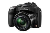 LUMIX DMC-FZ72EG-K Premium-Bridgekamera (16,1 Megapixel, 60x opt. Zoom, 7,5 cm LC-Display, elektr. Sucher, Full HD Video) schwarz
