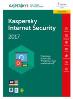 Internet Security Upgrade 2017 | 3 Geräte | 1 Jahr | PC/Mac/Android | Download