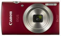 IXUS 185 Digitalkamera (20 Megapixel, 8x optischer Zoom, 6,8 cm (2,7 Zoll) LCD Display, HD Movies) rot