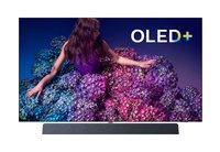 5 Zoll) OLED+ Smart TV (4K UHD, P5 Pro Perfect Picture Engine, HDR 10+, Dolby Vision, Dolby Atmos, Sound von Bowers & Wilkins, Android TV) Chromfarben