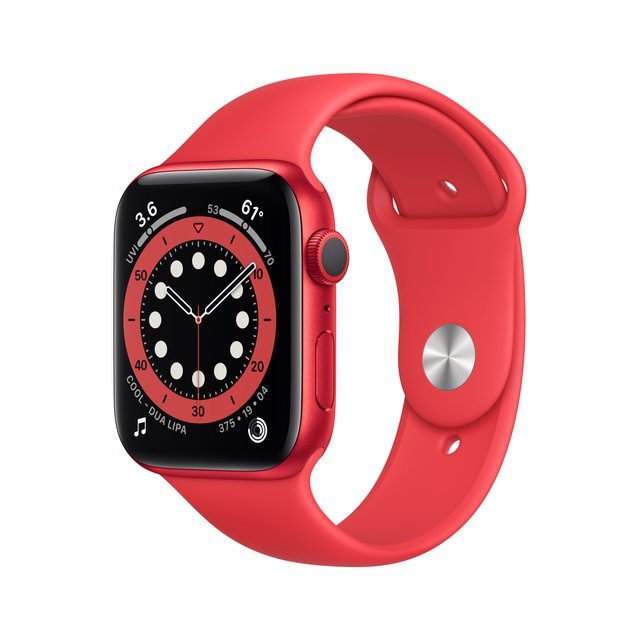 Watch Series6 (GPS, 40mm) Aluminiumgehäuse Product(RED), Sportarmband Product(RED)