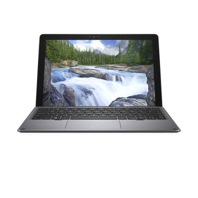 Latitude 7200-7157, Notebook, Schwarz/Silber, Windows 10 Pro 64-Bit