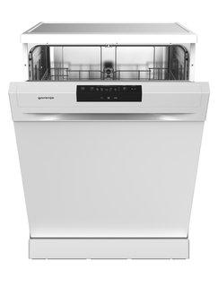 Geschirrspüler , Gs62040W B: 60 CM Weiss , Weiß , Metall , 60x84.5x67.5 cm , AquaStop, Besteckkorb , 000111035001