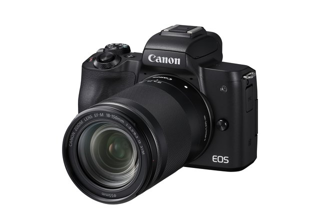 EOS M50 KIT (18-150 mm IS STM), Digitalkamera