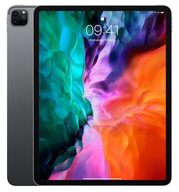 "iPad Pro (12,9"", 4. Generation, Wi-Fi, 256 GB) - Space Grau (2020)"