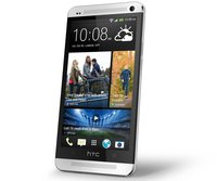 One 32GB SIM Free Smartphone - Silver with Free HTC flip case and HTC Media Link HD
