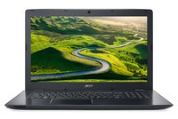 Aspire E 17 (E5-774G-558R) 43,94 cm (17,3 Zoll Full-HD matt) Laptop (Intel Core i5-7200U, 8GB RAM, 256GB SSD, 1.000GB HDD, NVIDIA GeForce 940MX, Win 10 Home) schwarz