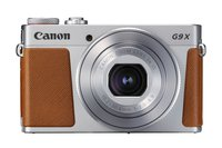 PowerShot G9 X Mark II Kompaktkamera (20,1 Megapixel, 7,5 cm (3 Zoll) Display, WLAN, NFC, 1080p, Full HD) silber