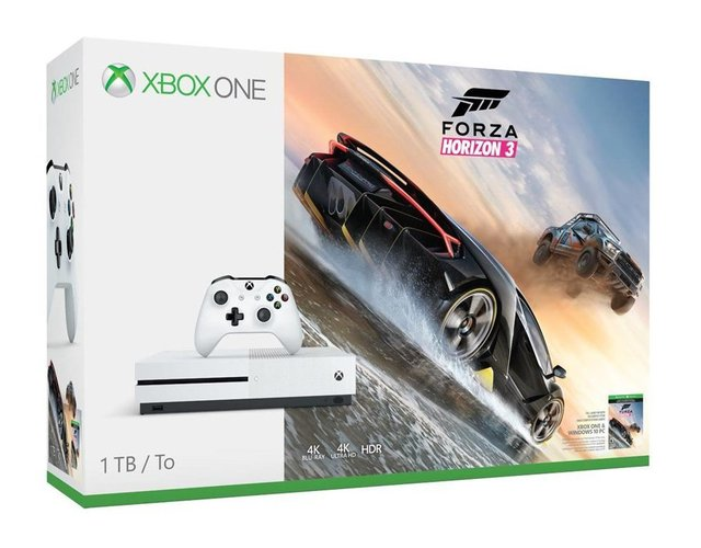 Xbox One S 1TB Konsolen-Bundle inkl. Halo Wars 2:Ultimate Edition