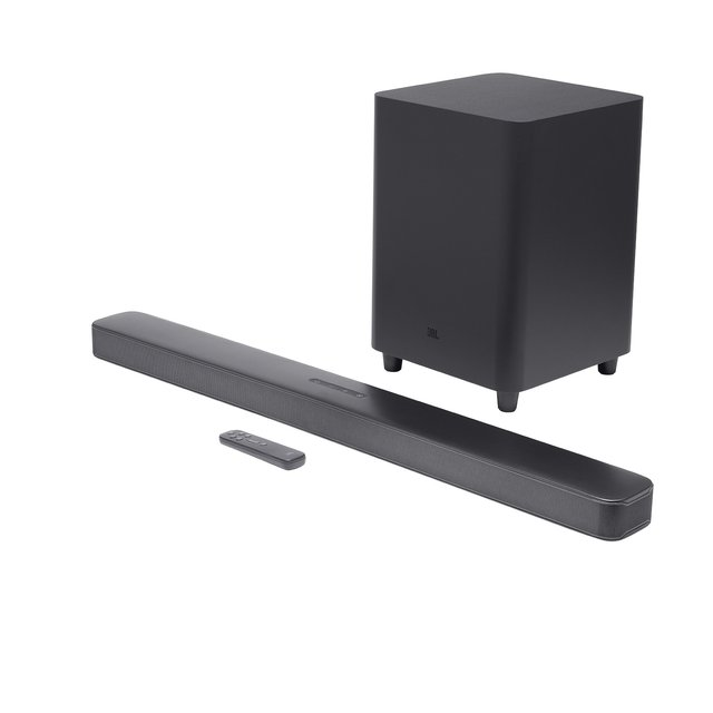 JBL BAR 5.1 Soundbar schwarz | 5.1-Kanal-Soundbar mit MultiBeam-Sound-Technologie