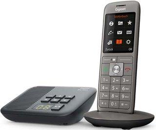 CL660A - Schnurloses Telefon mit Anrufbeantworter und großem TFT-Farbdisplay - Benutzeroberfläche, großes Adressbuch, schlankes Design