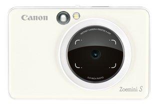 Zoemini S Sofortbildkamera digital 8 MP (inkl. Mini Fotodrucker, Sucher, Ringblitz, Selfie Spiegel (36x24mm), Micro SD Kartenslot, Print App,