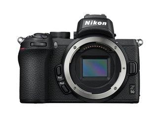Z 50 Spiegellose Kamera im DX-Format (20,9 MP, OLED-Sucher mit 2,36 Millionen Bildpunkten, 11 Bilder pro Sekunde, Hybrid-AF mit Fokus-Assistent,