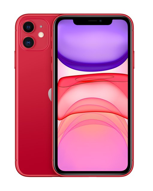 iPhone 11 128 GB 6.1 Zoll (15.5 cm) iOS 13 12 Megapixel (PRODUCT) RED™