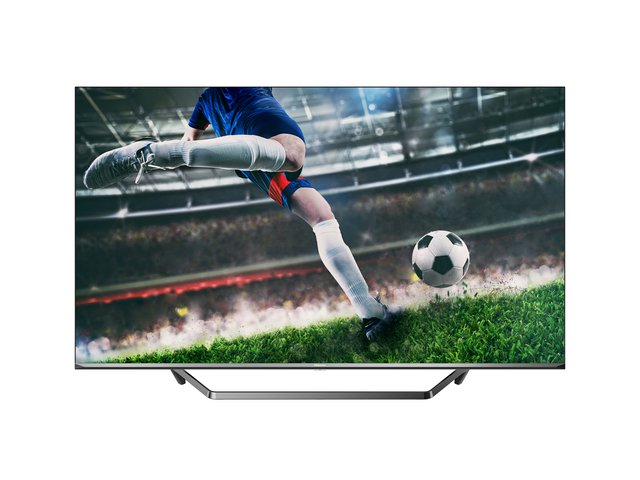 50U7QF QLED 126cm (50 Zoll) Fernseher (4K ULED HDR Smart TV, HDR 10+, Dolby Vision & Atmos, Full Array Local Dimming, WCG, USB-Recording,