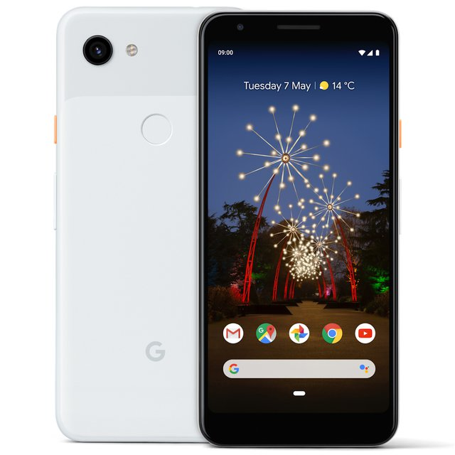 Pixel 3A XL 64GB Smartphone Android 9.0 (3A XL, Clearly White)