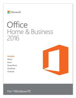 Office Home and Business 2016, Vollversion, 1 User, ESD, Download ( Online- Aktivierung)