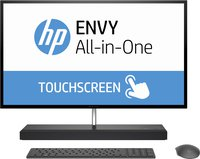 ENVY (27-b153ng) (1GU31EA) 68,6 cm (27 Zoll / QHD-IPS Touchscreen) All-in-One Desktop PC (Intel Core i5-7400T, 8 GB RAM, 1 TB HDD, 128 GB SSD, NVIDIA GeForce GTX 950M, Windows 10 Home 64) schwarz
